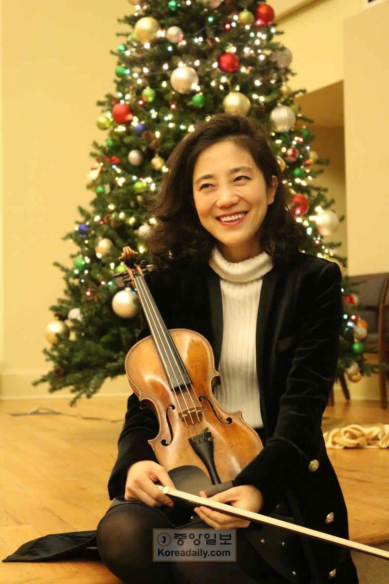 바이올리니스트 박지혜|사진출처: 애틀랜타 중앙일보